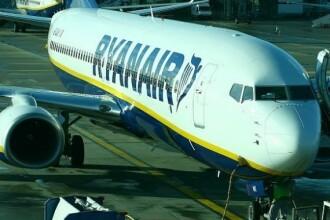 Bătaie la bordul unui avion Ryanair. Piloții au aterizat de urgență