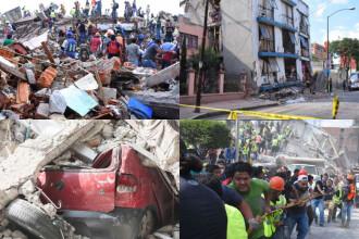 Cutremur în Mexic. GALERIE FOTO cu dezastrul provocat de furia naturii