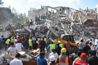 Cutremur de 7,1 în Mexic. Trei zile de doliu național și stare de dezastru, decretate. Biserică prăbușită în timpul slujbei