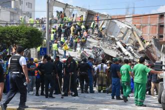 GALERIE FOTO cu efectele devastatoare ale cutremurului din Mexic, din 19 septembrie