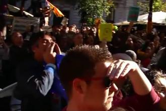 Guvernul spaniol ia măsuri dure împotriva separatiştilor catalani. Proteste în Barcelona