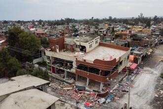 Nou bilanț după seismul din Mexic: 250 de morți. Multe victime încă sunt sub ruine