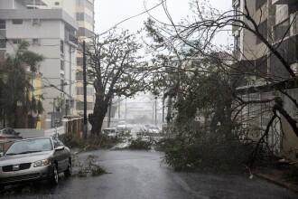 Uraganul Maria a lovit cu rafale de 250 de km/h insula Puerto Rico
