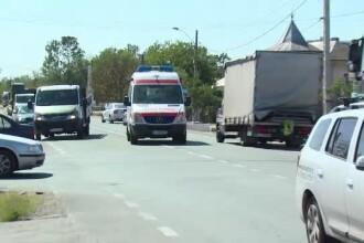 Un copil a murit lovit de un microbuz condus de un minor