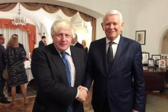 Ministrul de Externe britanic, Boris Johnson, la Bucureşti. Mesajul publicat pe Twitter