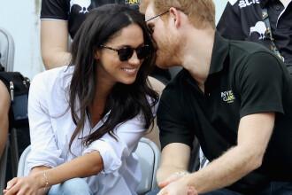 Prințul Harry, prima apariție publică alături de iubita lui, actrița Meghan Markle