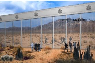 Începe construcţia celor opt prototipuri ale zidului lui Trump de la frontiera dintre SUA şi Mexic. Modelele prezentate
