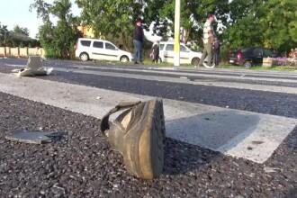 Bătrân din Bacău, ucis de un TIR pe trecerea de pietoni