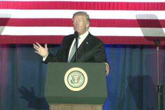 Atacul armat din Las Vegas. Președintele Trump: Deși suntem furioși, ceea ce ne definește e iubirea