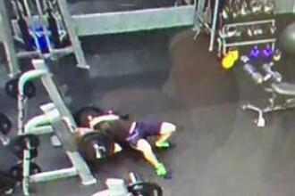 Incident grav în sala de fitness. Ce s-a întâmplat cu un tânăr care a încercat să ridice 120 de kg
