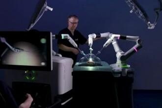 Noul robot chirurgical care ar putea ajunge în spitale din Europa