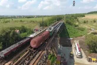 Circulația feroviară pe magistrala Caracal - Craiova a fost reluată