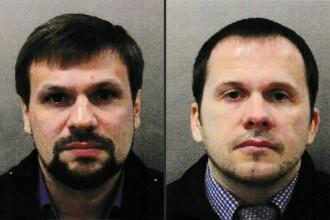 Marea Britanie a făcut publice numele ruşilor acuzaţi în cazul Skripal. Cum au fost filmați. FOTO