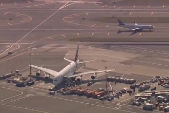 Un avion care a aterizat la New York, pus sub carantină după ce 100 de pasageri s-au simțit rău