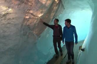 Cum s-a modificat un ghețar din Europa în 3 ani. Descoperirea unor nemți