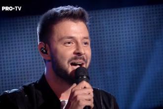 Moment emoționant la Vocea României. Un tânăr de 28 de ani a impresionat juriul. VIDEO