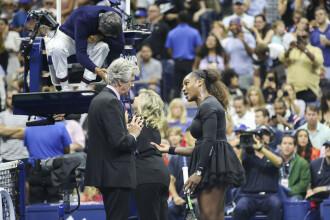 Finală cu acuze de sexism, scandal cu arbitrul şi lacrimi pentru Serena Williams, în finala US Open