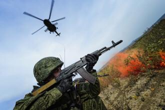 """Rusia, manevre militare fără precedent.""""Rușii se pregătesc de un conflict de anvergură"""""""
