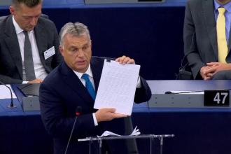 Un fost președinte francez îi ia apărarea lui Viktor Orban. Omagiu adus la Budapesta