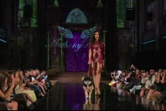 Săptămâna modei la New York. Colecţia pentru doamne şi câinii lor de companie