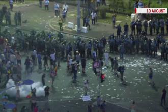 Jandarmeria, plângere la DIICOT că protestele din 10 august au fost o tentativă de lovitură de stat