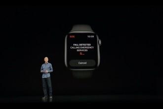Apple Watch 4: poate face EKG și sună la urgență dacă detectează probleme de sănătate