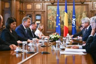 Iohannis a atacat PSD și ALDE în fața membrilor delegației Comisiei de la Veneția