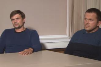 """Marea Britanie, reacție dură după interviul dat de suspecții acuzați că l-au otrăvit pe Skripal. """"O insultă"""""""