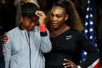Naomi Osaka a dezvăluit ce i-a șoptit Serena Williams la ureche după finală