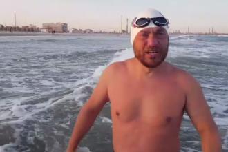 Avram Iancu, nouă provocare. În cât timp vrea să traverseze Marea Neagră până la Istanbul