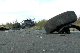 Accident grav în Constanța. Roata unei mașini s-a desprins în mers, 2 femei sunt rănite grav
