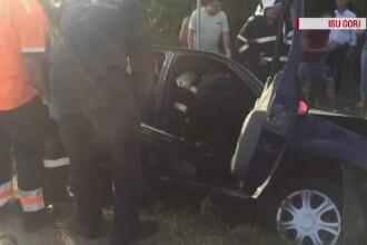 Salvat în ultimul moment după ce i s-a făcut rău la volan și a intrat într-un cap de pod