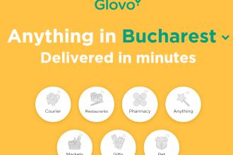 iLikeIT. Glovo, aplicația prin care puteți face comanda aproape orice în București