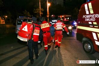 Femeie moartă într-un incendiu, în Capitală. Vecinii spun că soțul ei amenința că îi va da foc