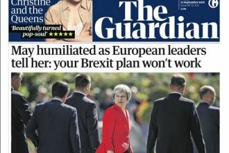 Presa britanică: Theresa May a fost