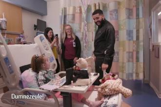 Surpriza făcută de rapperul Drake unei fane, în spital: