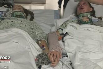 Ultima fotografie făcută de 2 surori, după un accident tragic. Decizia luată de părinţi