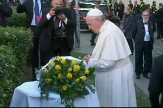 Papa Francisc se roagă pentru victimele naziştilor şi comuniştilor, în Lituania