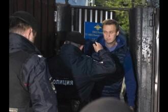 Liderul opoziției ruse, Alexei Navalnîi, arestat din nou chiar la ieșirea din penitenciar