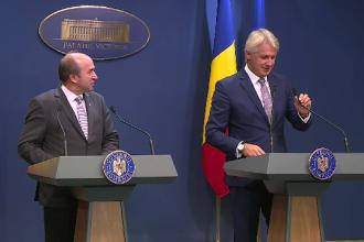 Guvernul a aprobat OUG privind insolvenţa. Reacția lui Toader, întrebat dacă s-a împăcat cu Teodorovici