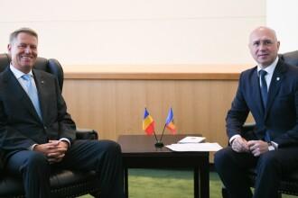Klaus Iohannis s-a întâlnit cu premierul Moldovei la New York. Ce i-a promis