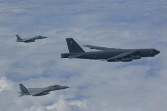 Japonia şi Statele Unite, demonstraţie de forţă în apropierea Chinei