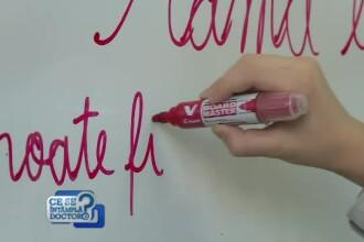 Psihologii spun că pixul roşu ar trebui interzis în şcoli. Ce înseamnă de fapt culoarea