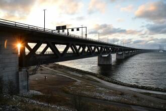 Alertă de securitate în Danemarca. Poliția a blocat podurile și trecerile spre Suedia