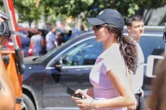 """Femeia jandarm bătută în timpul protestului din 10 august: """"Eu şi colegul meu am fost loviţi cu sete"""""""