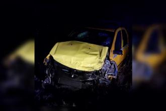 Manevra inconștientă a unui șofer a dus la un carambol în Olt