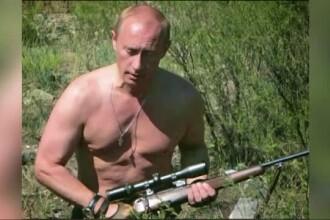 """Au apărut noile calendare cu Putin, inclusiv la pieptul gol: """"Doamne, îi iubesc!"""""""