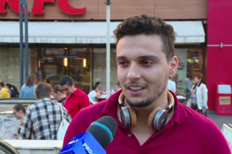 Reacția unui tânăr întrebat dacă ar lucra în București pe salariul minim pe economie