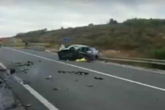 Trei morți și doi răniți în urma unui accident grav în Cluj. Cum s-a produs tragedia