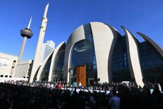 Cum arată cea mai mare moschee din Germania, inaugurată de Erdogan